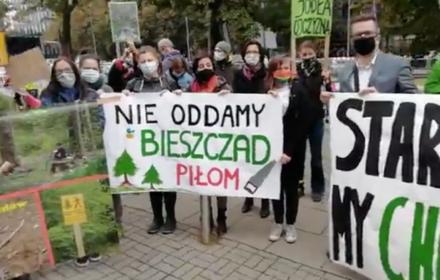 Przeciwko wycince w Puszczy Karpackiej. Protesty w 16 miastach