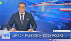 Lewicowy faszyzm na pasku wiadomości tvp