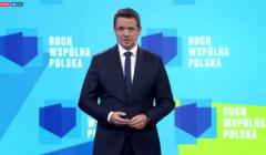 Rafał Trzaskowski - start ruchu Wspólna Polska
