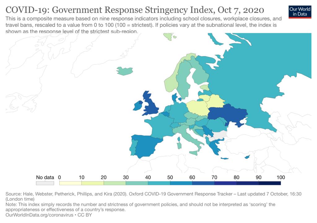Europa indeks restrykcji
