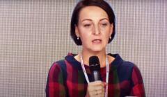 przemawia Magdalena Gawin o unarodowianiu humanistyki