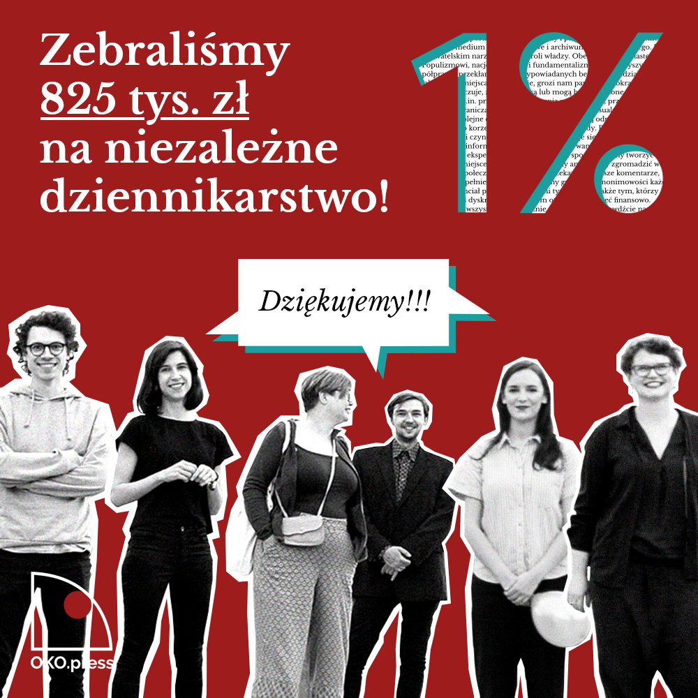 1% wesprzyj OKO.press