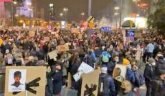 100 tys. ludzi protestujących w Warszawie