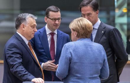 Mateusz Morawiecki, Viktor Orban, Angela Merkel