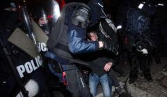 Strajk Kobiet pacyfikowany przez policję