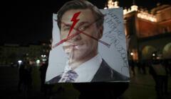To jest wojna. Protest na Krakowskim Rynku Glownym