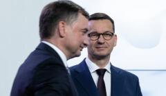 Mateusz Morawiecki i Zbigniew Ziobro
