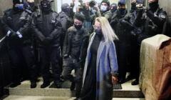 Agata Grzybowska opuszcza komendę na Wilczej