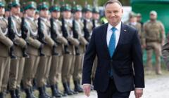 Prezydent RP Andrzej Duda na obchodach 81 rocznicy napasci sowieckiej na Polske  w Wytycznie