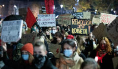 Lublin, protest - 1.11.2020