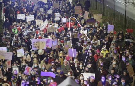 protest przeciwko decyzji TK w Częstochowie