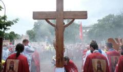 5 Marsz Katolicki Królowa idzie do Sejmu w Warszawie