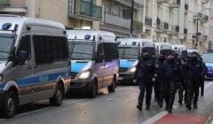 Policja przed blokada Sejmu planowana w Warszawie przez Ogólnopolski Strajk Kobiet