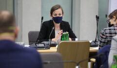 Zuzanna Rudzińska-Bluszcza na posiedzeniu sejmowej komisji sprawiedliwości