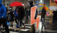 protest przeciwko zaostrzeniu ustawy aborcyjnej w Szczecinie