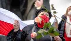 Raman Bandarenka protesty w Mińsku