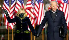 Joe Biden z żoną Jill