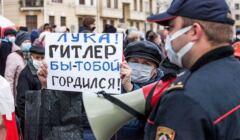 Protest w Mińsku, 8 XI 2020