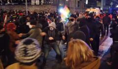 tajniacy podczas protestu kobiet