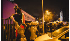 Strajk Kobiet przy Politechnice Warszawskiej