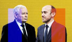 Jarosław Kaczyński, Borys Budka - ich partie remisują w najnowszym sondażu Kantar