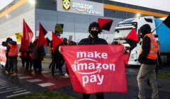 Amazon - protesty pracowników, akcja Make Amazon Pay
