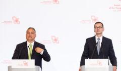 Orban i Morawiecki zapowiadają weto budżetu UE