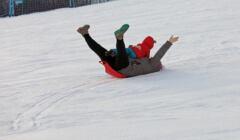 ferie w epidemii, zamknięty stok narciarski