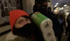 Łapanka po Strajku Kobiet