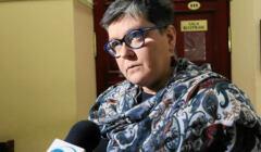 Elżbieta Podleśna komentuje dla TVN wyrok sądu