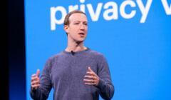 Mark Zuckerberg podczas prezentacji