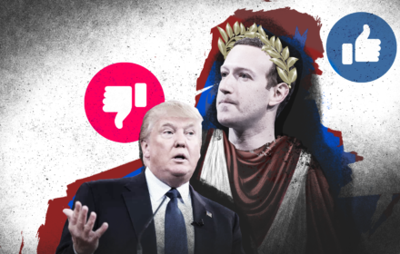 Mark Zuckerberg w roli rzymskiego cesarza