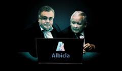 Albicla, Jarosław Kaczyński, Tomasz Sakiewicz