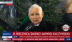 Kaczynski na mszy