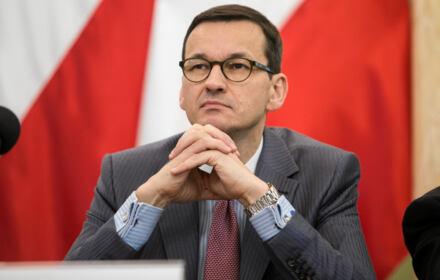 przemówienie na Powązkach Wojskowych w Warszawie