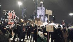 Nie dla piekła kobiet, Strajk Kobiet, 29 stycznia 2021, fot. John Bob