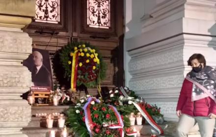 Nacjonalista zabił prezydenta Gabriela Narutowicza. Lewica upamiętniła 98 rocznicę morderstwa