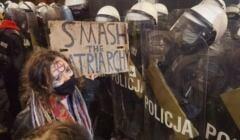 Smarsh the Patriarchy, Strajk Kobiet, policja, 29 stycznia 2021, fot. Robert Jurszo