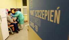 Pierwsze szczepienia przeciw covid w Olsztynie