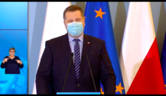 Minister Czarnek na konferencji prasowej dot. powrotu do szkół klas 1-3