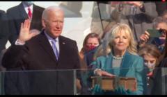 Joe i Jill Biden na inauguracji prezydenta