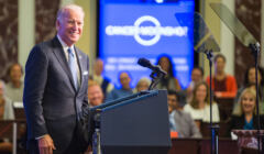 Joe Biden na konferencji prasowej