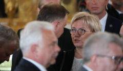 Prezydent RP Andrzej Duda i Julia Przyłębska, prezes Trybunału Konstytucyjnego