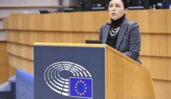 Vera Jourova w Parlamencie Europejskim
