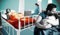 szpital, poród, poronienie