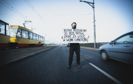 Protest klimatyczny, Warszawa, 25.02.2021