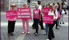 Demonstracja na rzecz Planned Parenthood, Nowy Jork, 2015