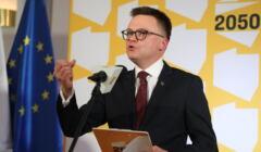 Szymon Hołownia prezentuje program uregulowania relacji pomiędzy państwem a Kościołem.