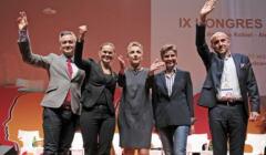 Robert Biedroń, Barbara Nowacka, Joanna Scheuring-Wielgus, Joanna Mucha, Borys Budka