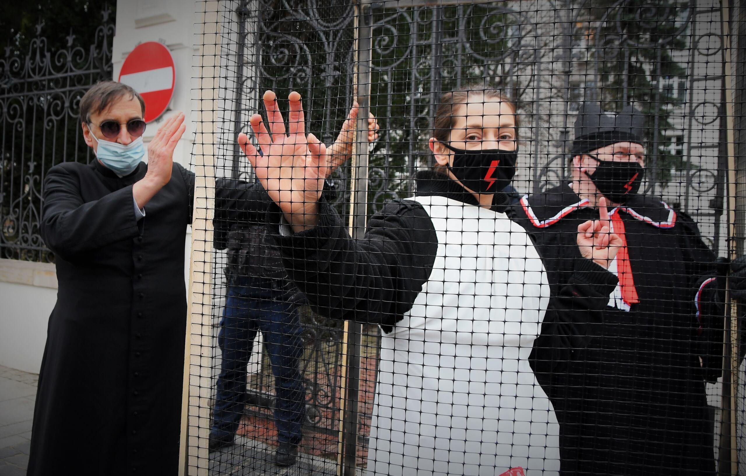 Protest przeciwko projektowi Ordo Iuris o wypowiedzeniu Konwencji Stambulskiej